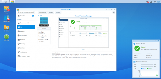 Synology's Virtual Machine Manager Pro Ensures Security and