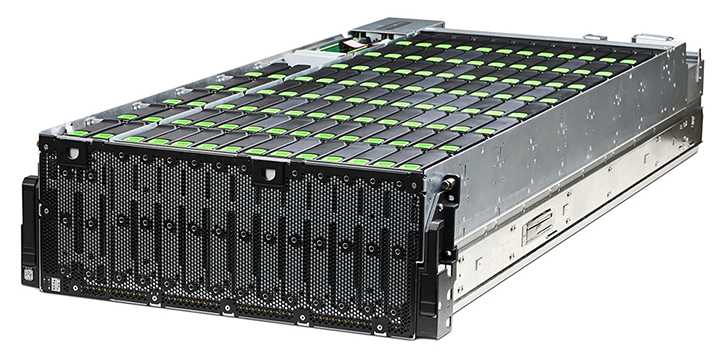 Seagate Exos 4U106 data center storage system