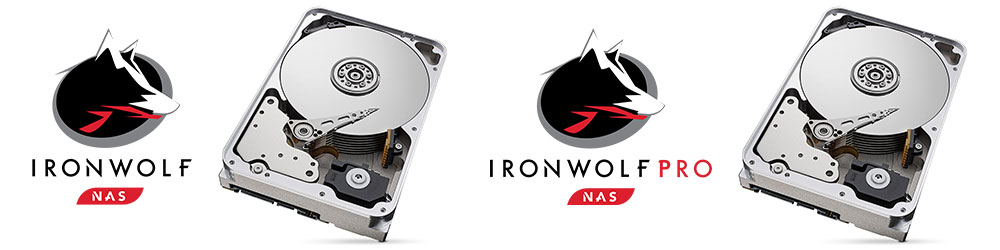Seagate 14TB Ironwolf Drives Inside