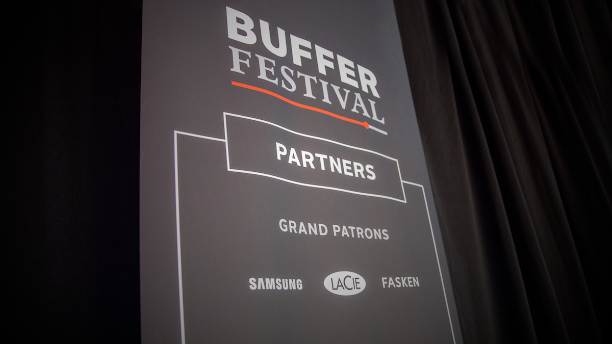 LaCie is a Grand Patron of Buffer Festival