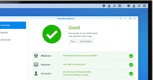 Synology NAS offers advanced security measures to protect against sudden data loss and potential security holes