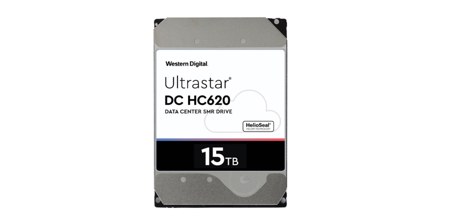 15TB HDD - the Ultrastar®DC HC620 Host-Managed SMR HDD