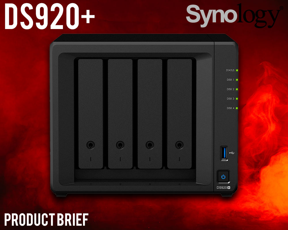 Synology DS920+ NAS